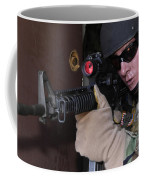 Airman Posts Security At The Front Door Coffee Mug