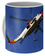 Airman Practices Rappelling Coffee Mug