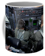 Airmen At Work In A Mc-130h Combat Coffee Mug