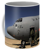 Airmen Board A C-130j Hercules At Dyess Coffee Mug