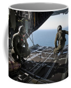 Airmen Wait For The Signal To Deploy Coffee Mug