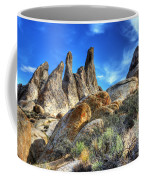 Alabama Hills Granite Fingers Coffee Mug by Bob Christopher