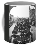 Alamo Plaza In San Antonio Coffee Mug