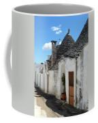Alberobello Street Scene Coffee Mug