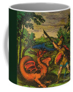Alchemical Knight Slays The Primordial Coffee Mug by Science Source