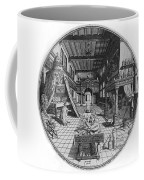 Alchemists Laboratory, 1595 Coffee Mug by Science Source