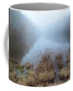 Alcotts Pond In Fog Coffee Mug