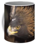 Alert Golden Eagle Coffee Mug
