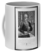 Alessandro Volta, Italian Physicist Coffee Mug by Omikron