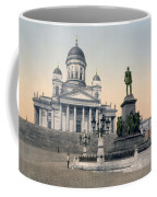 Alexander II Memorial At Senate Square In Helsinki Finland Coffee Mug