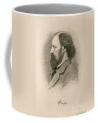 Alfred, Lord Tennyson, English Poet Coffee Mug
