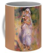 Algerian Woman And Child Coffee Mug by Pierre Auguste Renoir