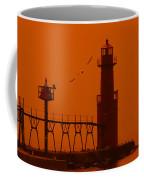 Algoma Pierhead Wi 16 O Coffee Mug