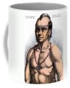Algonquian Man, 1645 Coffee Mug