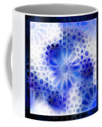 Alhambra Pattern Blue Coffee Mug