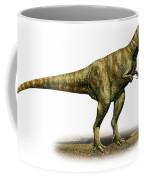 Alioramus Remotus, A Prehistoric Era Coffee Mug
