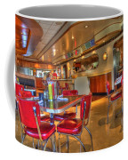 All American Diner 5 Coffee Mug by Bob Christopher