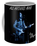 All Around Man Blues Square Coffee Mug