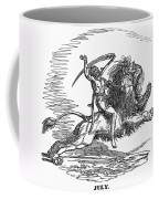 Allegory: July, 1837 Coffee Mug