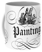 Allegory Of Finance, 1743 Coffee Mug