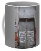 Alley Doors Coffee Mug