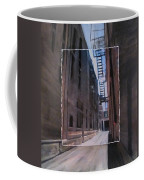 Alley With Fire Escape Layered Coffee Mug