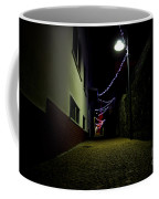 Alley With Lights Coffee Mug