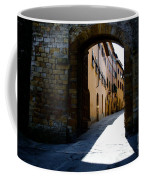Alley With Sunlight Coffee Mug