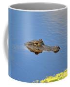 Alligator Afloat Coffee Mug