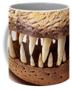Alligator Skull Teeth Coffee Mug