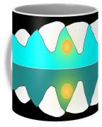 Alligator Sunrise Coffee Mug