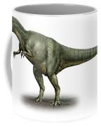 Allosaurus Fragilis, A Prehistoric Era Coffee Mug