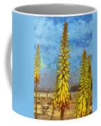 Aloe Vera Flowers Coffee Mug