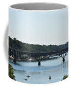 Along The Schuylkill River At Strawberry Mansion Coffee Mug
