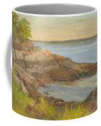 Along The Sound Shore Coffee Mug