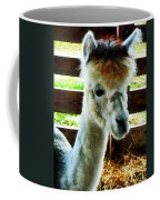 Alpaca Closeup Coffee Mug