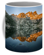 Alpenglow At Upper Sardine Lake Coffee Mug