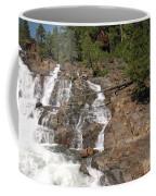 Alpine Creek Falls Lake Tahoe Coffee Mug