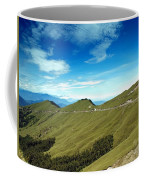 Alpine High Altitude Road In Taiwan Coffee Mug