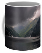 Alpine Lake With Sunlight Coffee Mug by Mats Silvan