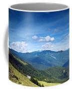 Alpine Panorama In Taiwan Coffee Mug
