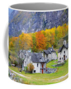 Alpine Village In Autumn Coffee Mug