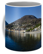 Alpine Village Reflected In The Lake Coffee Mug