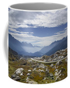 Alps And Road Coffee Mug