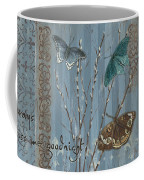 Always Kiss Me Goodnight Coffee Mug by Debbie DeWitt