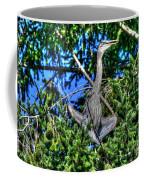 Amazing Heron Coffee Mug