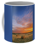 Amazing Sunset Over Pasture Coffee Mug
