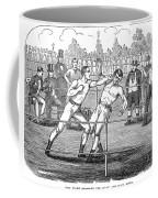 American Boxing, 1859 Coffee Mug