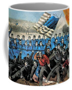 American Civil War, Battle Of Malvern Coffee Mug by Photo Researchers