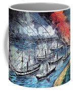 American Civil War, Farraguts Fleet Coffee Mug